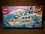 New Lego 41015 Friends Dolphin Cruiser Factory Sealed Box 2013