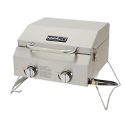 Nexgrill 2-burner Portable Propane Gas Table Top Grill Stainless Steel Durable
