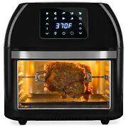 10in1 Family Size Air Fryer Countertop Oven Rotisserie Toaster Dehydrator 16.9qt