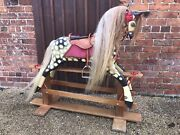 Large Vintage Rocking Horse Restored By Stevensons Made By Collinsons