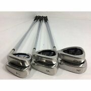 Xxio Cross Iron 2019 7-9.p.a.d Ns Pro 870gh D.s.t Lot Of 6 Set Menand039s Silver Used