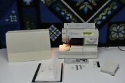 Pfaff Creative 7530 Sewing Machine -quilt And Craft Pro-professionally Serviced