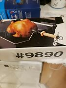 Weber 9890 Gas Bbq Rotisserie New Open Box Barbecue Grill Parts Read