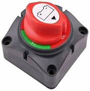 Marine Battery Disconnect Switch On-off Position Master Cut Off Switch