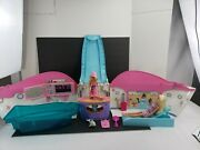 2007 Mattel Barbie Party Cruise Ship / Yacht + Accessories Tested Works Great