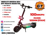 Hb05 Gti 5600w 60v 21ah Off Road E-scooter
