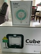 Printer 3d Cube 3rd Generation Color Grey ... Used