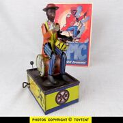 Spic And Span Solo Drummer Wind-up Toy Louis Marx And Co. 1924 See Movie