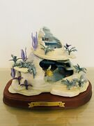 Wdcc Enchanted Places The Little Mermaid - Ariel's Secret Grotto W/box And Coa