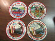 Ten Mile River Scout Camps Lot Of 6 Worn Jacket Patches   C80