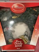 Disney Store Exclusive Mickey Mouse Christmas Light Up Wreath With Ornaments Obo