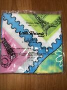2012 Girl Scout Little Brownie Bakers Bandana,wog Retired Hard To Find Stamp