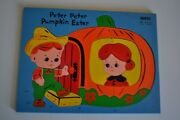 Vintage Sifo Puzzle Wooden Peter Peter Pumpkin Eater Free Shipping