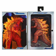 Burning Godzilla King Of The Monsters 12 Head To Tail Action Figure Model New