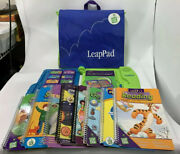 Leap Frog Leap Pad Learning System 30004v2 W/8 Books And 8 Cartridges