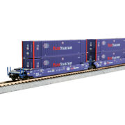 Kato 1066180 - Maxi-iv Well Car 3-unit Set Pacer 6066 - N Scale