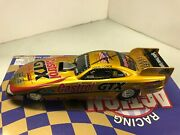 John Force 7x Champ Action Diecast 1998 Mustang 124 Funny Car Autograph