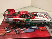 John Force Gtx High Mileage Action Diecast 2003 Mustang 124 Funny Car Autograph