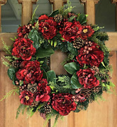 The Wreath Depot Westhaven Winter Wreath 22 Inches Stunning Designer Quality