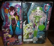 Monster High Brand-boo Students Batsy Claro Doll And Draculaura Great Scarrier