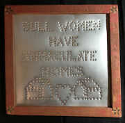 Dull Women Have Immaculate Homes Antiques Picture Frames Decorative Art Vintage