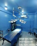 Double Dome Surgical Operating Light Operation Theater Lamp Ot Ceiling Led Light