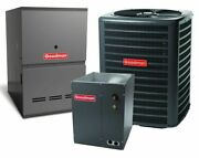 Goodman 2 Ton 14.5 Seer Heat Pump Bundle Gsz140241 Chpf3636b6 Gces800603an