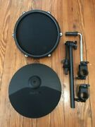 Alesis 10 Cymbal W/8 Tom Pad +2 Cables 10 Arm And Clamps New Nitro Drum E-drums