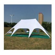 Waterproof Camping Event Beach Yard Patio Mini Double Star Stretch Tent New