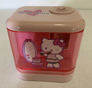Hello Kitty Pink Battery Operated Pencil Sharpener Small Sanrio