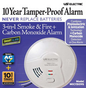 Usi Electric Mic1509s 3-in-1 Smoke And Fire + Carbon Monoxide Detector