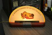 1950s Wynns Friction Proofing Johnny Parsons Indianapolis Light Up Advertising
