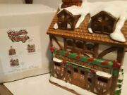 Christmas Colonial Village By Lefton-brennerand039s Apothecary