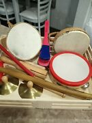Melissa And Doug Band-in-a-box Clap Clang Tap 15-piece Musical Instrument Set Open