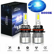 Parts Accessories Fit For Ford 8000k 9007 Led Headlight Hi/low Beam Bulbs Kit