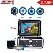30m 1000tvl Fish Finder Underwater 7.0 Display 15 Infrared Bulbs 15 White Leds