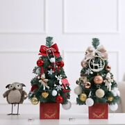 2021 Mini Christmas Tree Table Top Lights Tree Package Decorations Home Gifts