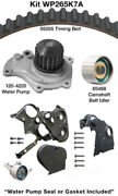 Engine Timing Belt Kit With Water Pump-water Pump Kit W/o Seals Dayco Wp265k7a