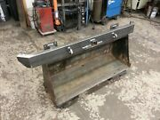 Jeep Xj Cherokee Rear Bumper With D-ring Tabs Hitch Tie-ins Hardware