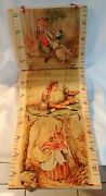 The Growth Chart 4- Wood Plaques The Beatrix Potter Collection By Sevi Italy