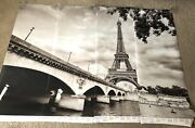 Wall26 Mural Paris Eiffel Tower 66x96 Removable Wallpaper Decal Discontinued