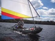 Sail Kit For Your Sea Eagle Or Saturn Inflatable Kayak Read Description