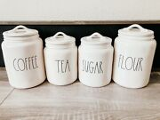 Rae Dunn Coffee Sugar Tea And Flour Canister Set Of 4 By Magenta