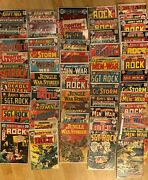 50+silver And Bronze Age War Comic Collection.sgt Rockcaptain Stormmen At War