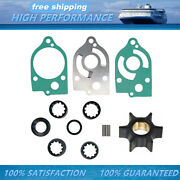 Water Pump Impeller Kit For Mercury Outboard Replaces 47-89983q1 30-70hp