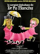 Peter Sellers The Fiendship Plot Of Fu Manchu 1980 French Poster 47x63