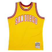 Mitchell And Ness Gold Nba San Diego Conquistadors 1973-74 Aba Swingman Jersey
