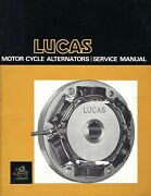 Lucas Motor Cycle Alternators_service Manual_most British Bikes From 1960and039s-70and039s