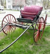Antique Horse-drawn Buggy Carriage Pennsylvania May Need Some Tlc