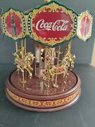 Coca Cola 1997 Franklin Musical Carousel Not Working The Collector's Edition